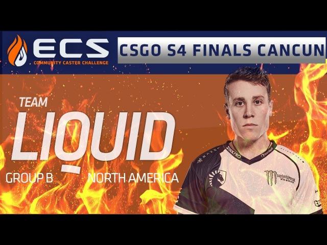 Team Liquid - Well see you at the finals! (ECS S4 Finals)