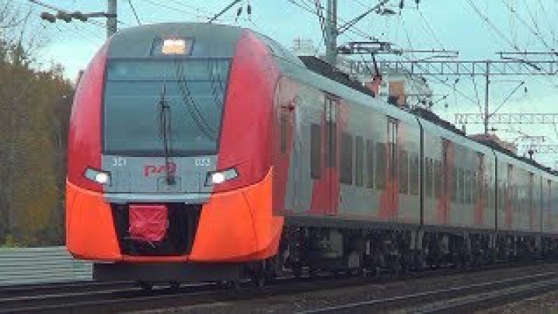 Скоростной электропоезд ЭС1-033 ЭС1-015
