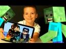 Кока Майнкрафт с РОДИТЕЛЯМИ НУБик Выживание с ВЕБКОЙ по сети в Minecraft PE Видео для