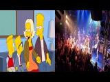 The Simpsons Predict Guns N Roses Reunion April 13 2014
