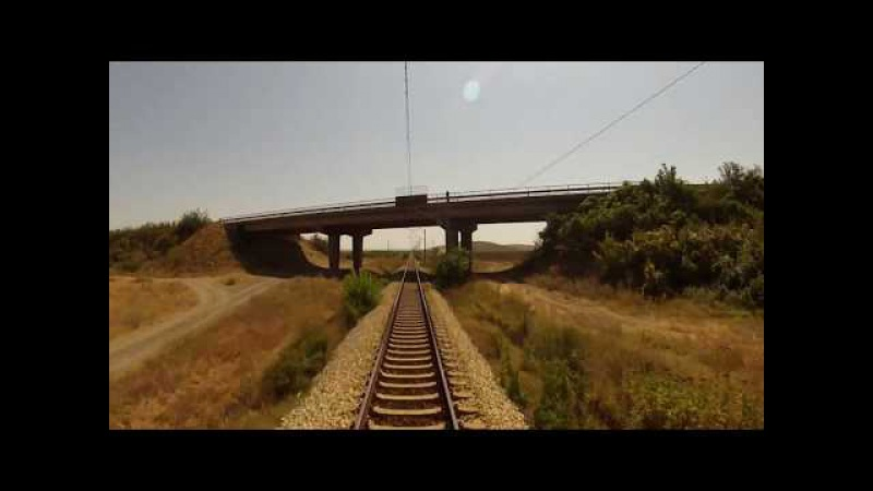 Bulgarian railways cab ride: Sliven - Burgas