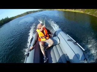Лодка Zvezda 390 НДНД + Parsun 9.8