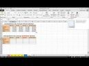 Консолидация сборка данных из нескольких таблиц в Excel