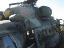 Сбитый ополченцами ДНР украинский вертолет / Downed militias Ukrainian helicopter