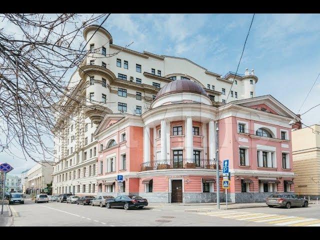 Обзор элитной квартиры в центре Москвы. Погорельский переулок 6, клубный дом-Дипломат
