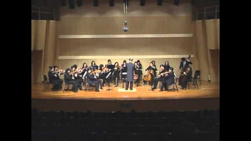 W. A. Mozart. Symphony No.6 F Major KV.43 - 3.Menuetto 4.Allegro.