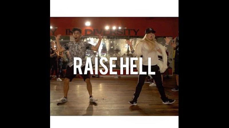Sir the Baptist - Raise Hell - Choreography by NIKA KLJUN JULIAN RAY | @nikakljun @_julianray