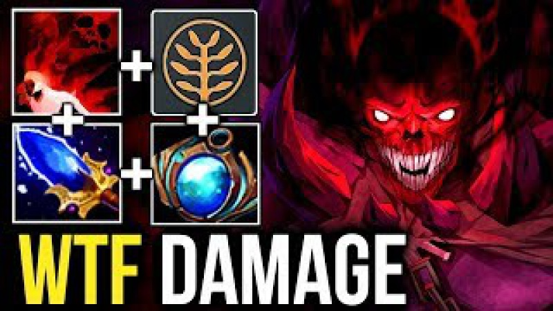 CRAZY 900 DMG ULTI Scepter Talent Shadow Demon by Inyourdream 7.07 Dota 2