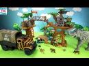 Animal Planet Safari Treehouse Playset Toys For Kids Learn Animal Names Video
