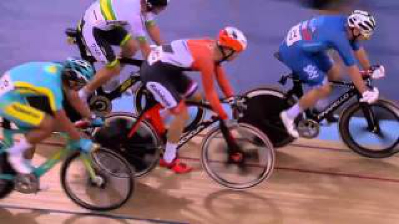 Men's Omnium - Elimination Race - 2016 UCI Track Cycling World Championships