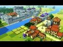 МАЙНКРАФТ СВЕРХУ? ОБЗОР ИГРЫ ► Kingdoms and Castles. Часть 1