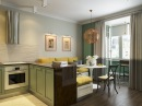 Из однокомнатной квартиры - двухкомнатная. Дизайн квартиры 53 кв.м.