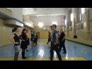 Городская кадриль. Схема танца. Школа ИБТ Котильон