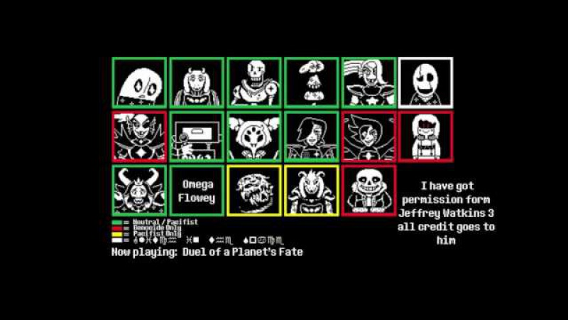 HerobrineTV Undertale Outertale All Bosses Themes