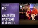 Cingöz Recai filminin oyuncuları filmin hikayesini anlattı - Afiş 13 10 2017 Cuma