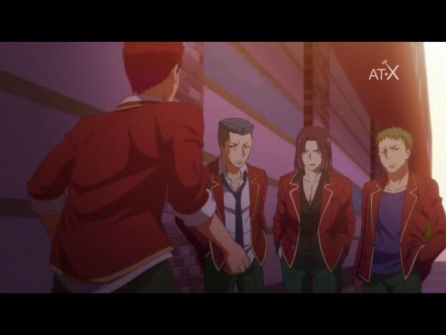 4 серия Добро пожаловать в класс превосходства - Youkoso Jitsuryoku Shijou Shugi no Kyoushitsu e русская озвучка Mensh