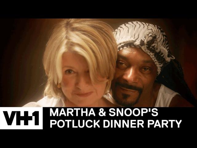 Martha Snoop Reenact The Movie 'Ghost' | Martha Snoop's Potluck Dinner Party