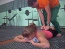 Guțuțura Anastasia suplețea în centura scapulară și un pic picioarele 25 09 2014