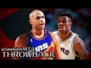 Charles Barkley vs David Robinson EPiC Duel 1993 WCSF GM6 - Admiral With 22, Barkley With 28, 21!
