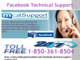 Flush Away Your Problems with Facebook Technical Support 1-850-361-8504