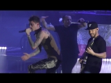 Linkin Park 2017-06-15 Cracow, Tauron Arena, Poland - Papercut Bleed It Out (w_ Machine Gun Kelly)