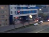 В Смоленске горит общежитие физакадемии