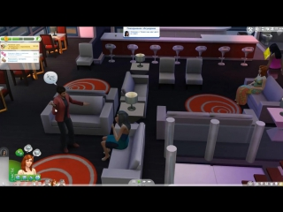 The Sims 4 Поиграем Семейка Митчелл _ #19 Толстопузик от тортика