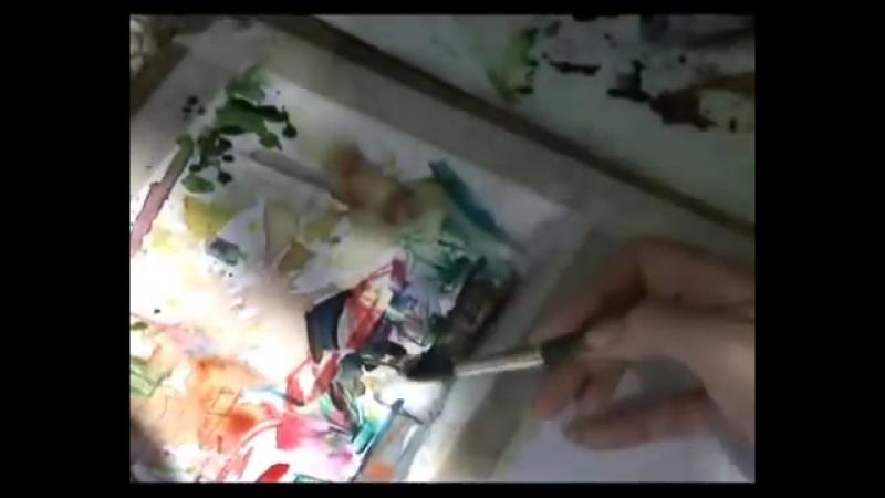 Акварель акварельные карандаши