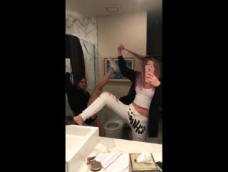 Bridget on Alissa Violet Snapchat • Apr 13, 2017
