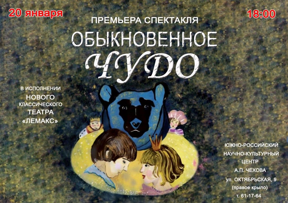 Афиша спектаклей ТГЛИАМЗ с 20 по 28 января