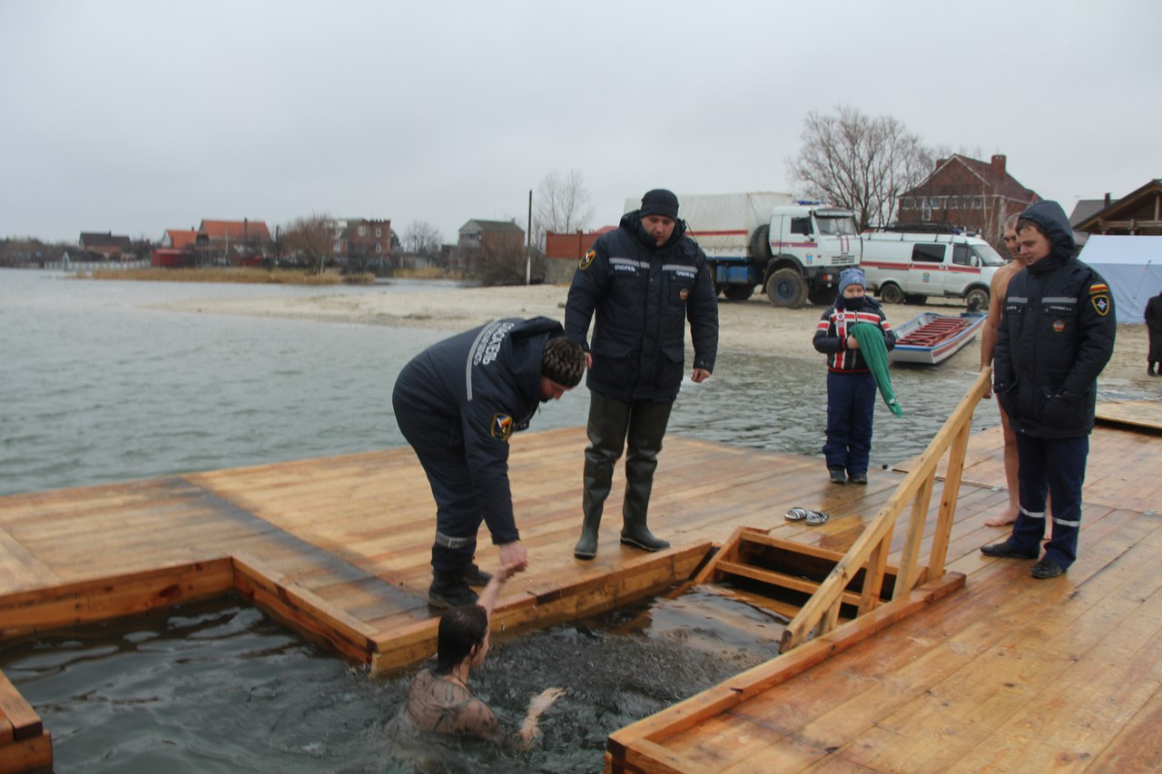 ДПЧС: полный список мест купания на Крещение в Ростовской области