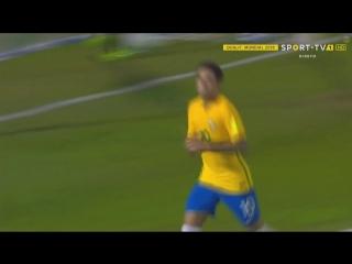 Уругвай - Бразилия. Гол Неймара