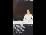 Автограф-сессия команды фильма Лига справедливости Часть 1 в рамках фестиваля Comic-Con в Сан-Диего  22 июля 2017