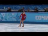 [ОИ2014] Личный турнир ПП (НТВ+) Юлия Липницкая  SOCHI 2014