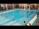 Первенство BDC по плаванию. Брасс 50м
