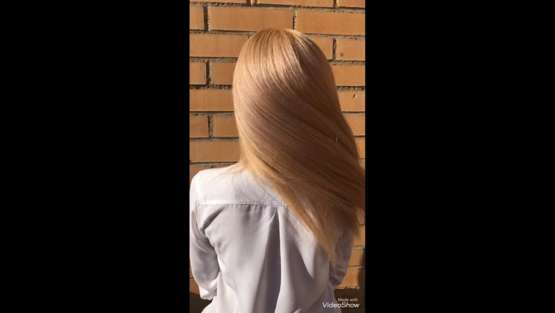 Нанопластика на ненатуральном блонде