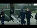 Трамп вернул улетевшую фуражку солдату