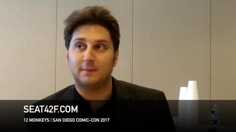 Terry Matalas интервью | 12 Обезьян | 12 Monkeys | Interview | Comic Con
