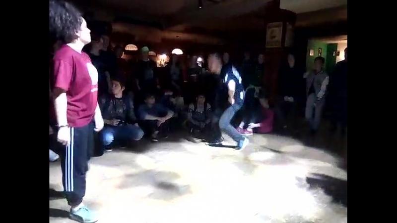 Boombox battle vol.2 Cholito vs Oras Hip-Hop Pro