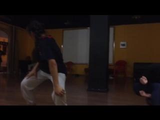 Contemporary choreography by Timur Bazarov (Rapton)