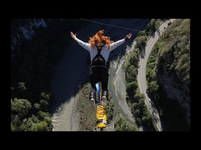 Скайпарк Сочи. Прыжок 207 метров / 207m Bungy Jump at Skypark AJ Hackett Sochi
