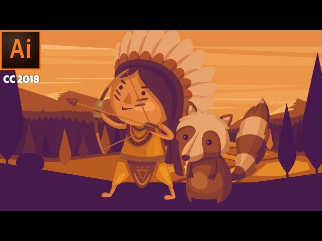 Puppet warp in adobe illustrator cc 2018 » Freewka.com - Смотреть онлайн в хорощем качестве