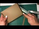 Мастер класс зимняя или новогодняя Фото папка в форме тэга с нуля Скрапбукинг часть 2