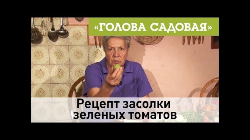 Голова садовая - Рецепт засолки зеленых томатов » Freewka.com - Смотреть онлайн в хорощем качестве