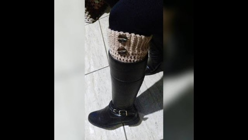 Boot Cuff - Polaina para Botas / Glaucia Tamiossi