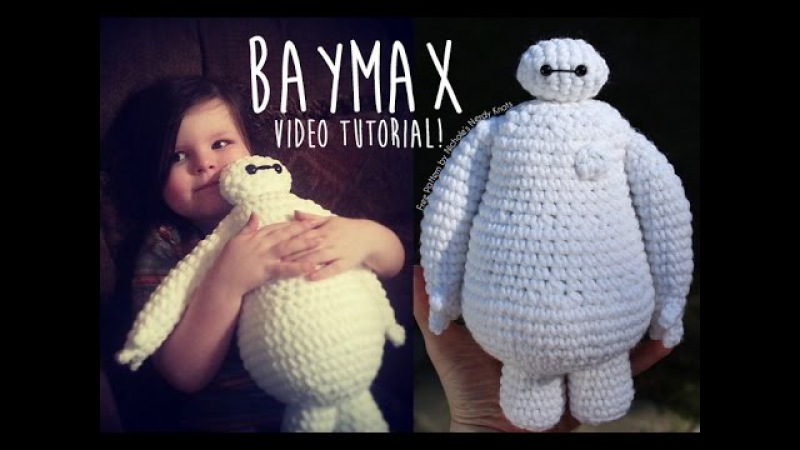 Baymax Crochet Tutorial