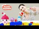 Мои Малышарики игрушки в песочнице Куличики из разных формочек