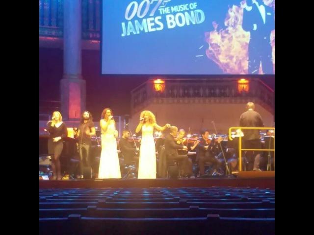 Conchita Wurst - Rehearsals for the James Bond Gala - 02.12.2017