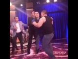 MTV show korsatuvi syomkasi paytida Valijon Shamsiev va bodybuilder Habibullo Nizomov ortasida janjal chiqdi