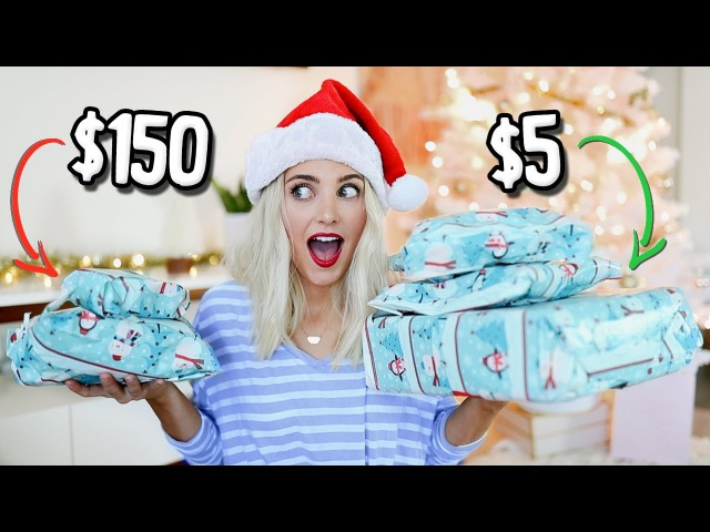 Guessing Cheap vs Expensive Gifts! HUGE GIVEAWAY!! | Aspyn Ovard